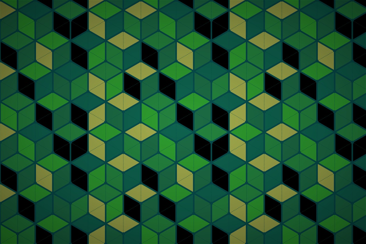 free hexagonal cube mesh wallpaper patterns