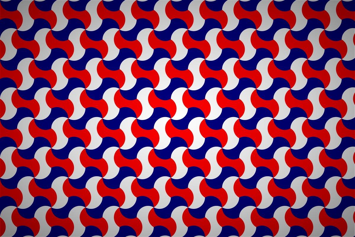 Free interlocking simple tessellation wallpaper patterns