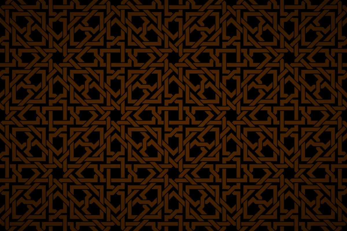 Free Islamic Geometric Interwoven Wallpaper Patterns