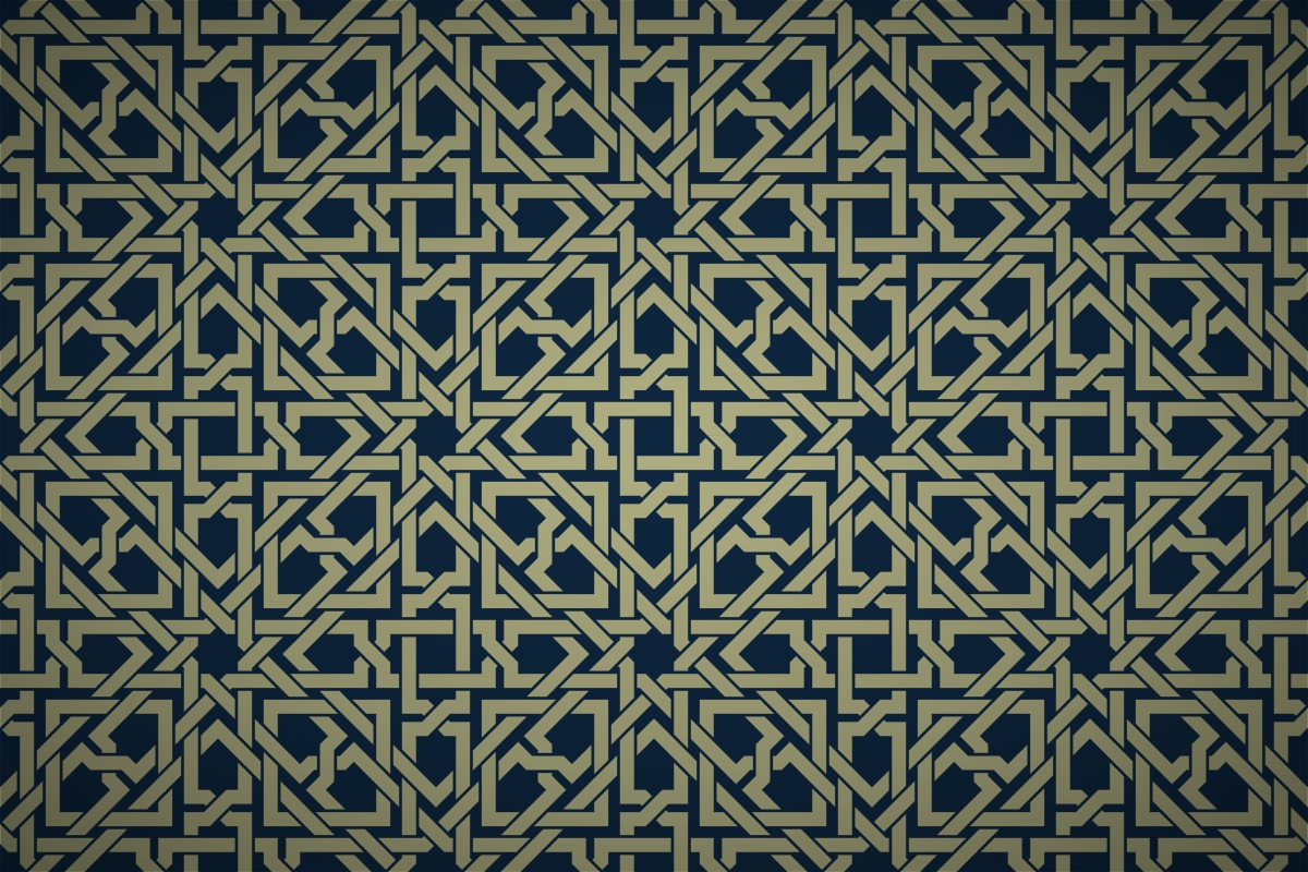 Free islamic geometric interwoven wallpaper patterns for Simple Islamic Designs  150ifm