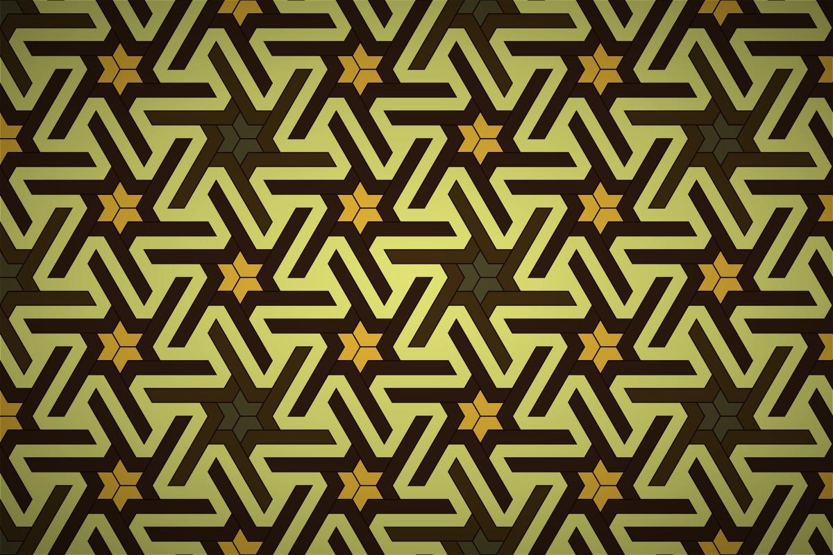 Free Japanese Tessellation Star Seamless Wallpaper Patterns