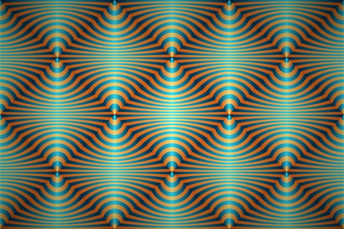 Optical Art Designs : Free optical art stripes wallpaper patterns