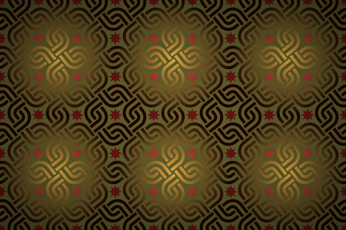 Free Oriental Interlinking Squares Wallpaper Patterns