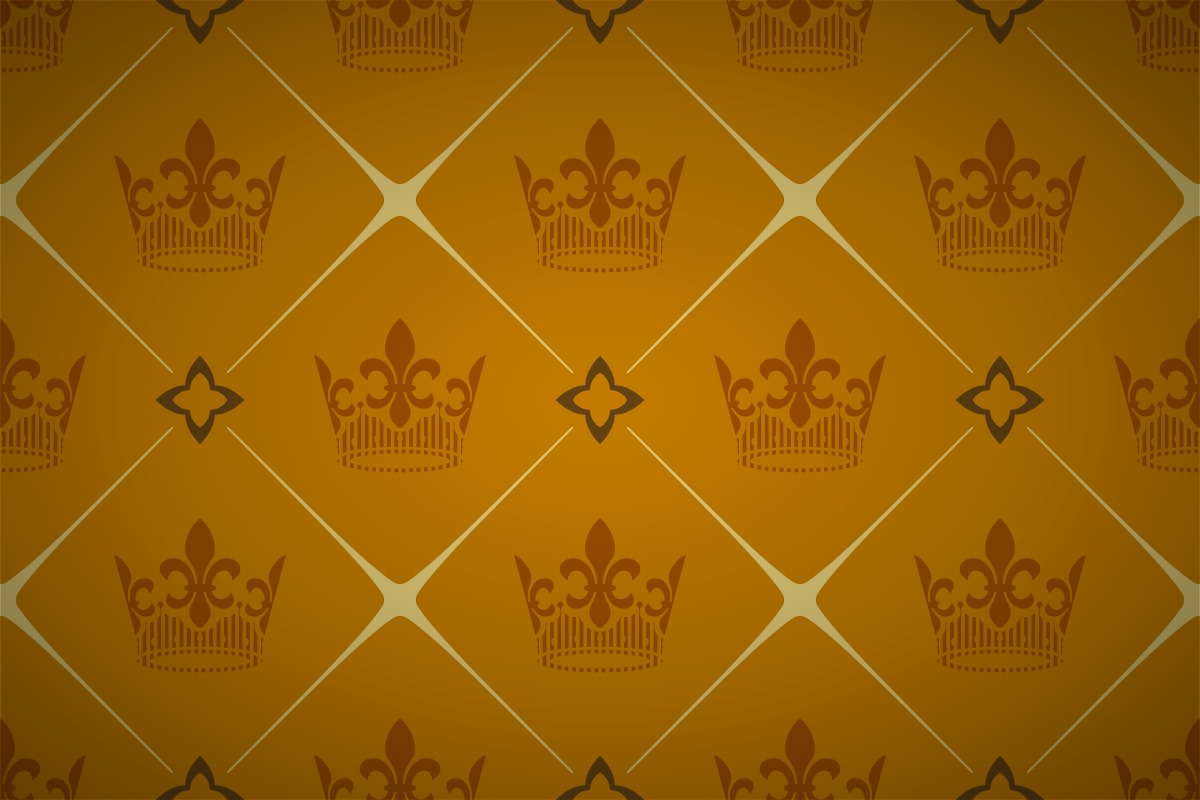 Free Royal Crown Seamless Wallpaper Patterns