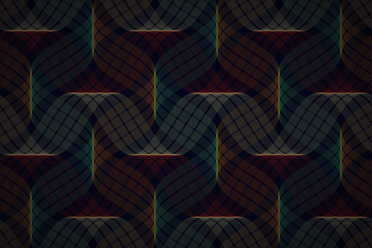 Free Sine Wave Tartan Wallpaper Patterns