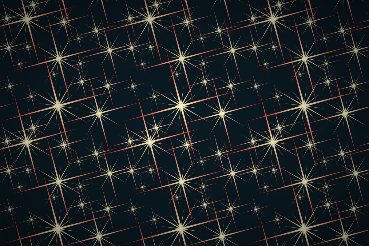 Free Sparkly Star Wallpaper Patterns