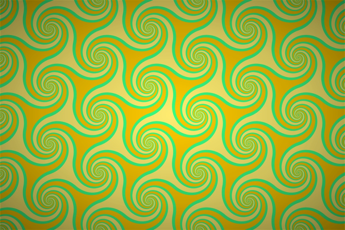 Free spiral triangle entwine wallpaper patterns