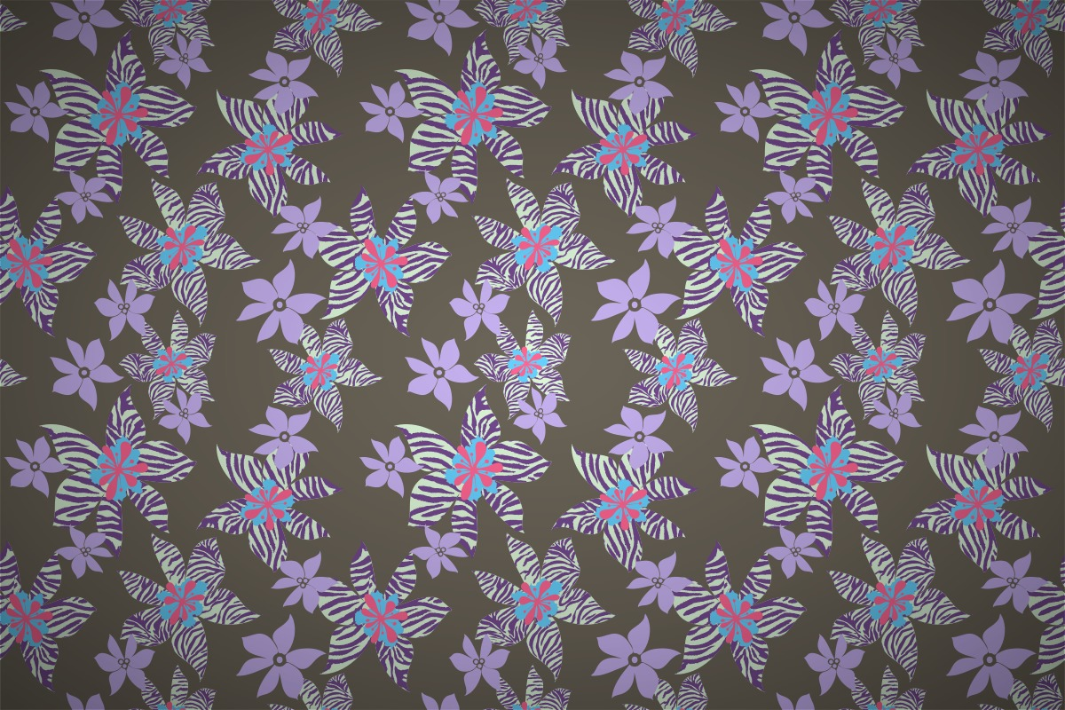 Lovely Free Tiger Orchid Seamless Wallpaper Patterns Nice Ideas