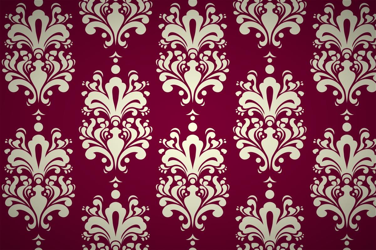 The Inspiration Gallery  Damask Wallpaper Patterns